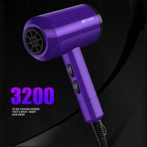 Image 5 - 3200 Professional Hair Trockner Heißer/Kalten Wind Schnelle Wärme Haartrockner Styling Tools 220 240V High Power Schlag trockner Friseur 40D
