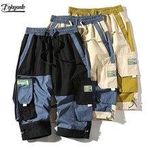 FOJAGANTO Summer New Cargo Shorts Men Fashion Brand Men's Pr