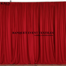 Colorful Panel Polyester Wedding Backdrop Curtain Seamless Stage Background Event Party Backdrops Decoration