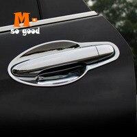 2012 2013 2014 2015 2016 For Honda CRV CR V Door Handles And Door Bowl Cover Trim ABS Chrome Auto External Moulding Accessories