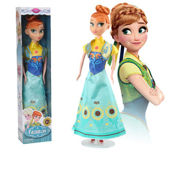 31cm Frozen 2 Princess Anna And Elsa Doll For Girls Toys High Quality For Plastic Baby Dolls Congelad Children Gift no box four styles high quality boneca 32cm elsa doll girls toys fever 2 princess anna and elsa doll clothe for dolls children