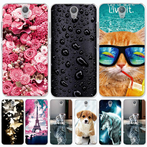 Case for Lenovo Vibe S1 A40 / S1 C50 Case Cover 3D TPU Silicone Coque For Lenovo Vibe S1 Lite Case Cover for Lenovo S1a40 Cover(China)