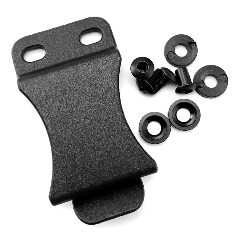 Tactical K Sheath Holster Waist Clip Outdoor DIY Pocket Scabbard Belt Clips With Screws For KYDEX HOLSTER