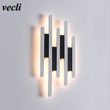 Modern LED Wall Lamp For Living Room Bedroom Bedside Nordic Decoration Designer Corridor Hotel Wall Lights