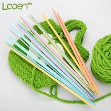 Looen 14pcs Knitting Needles Set 4.0-10mm Sewing For Yarn Weave Sweater Clothes Needlework Hook Needle Arts Craft