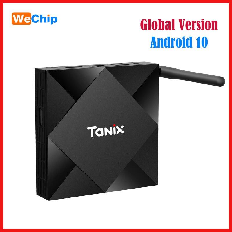 TX6S Smart HD TV BOX Android 10 Allwinner H616 Mali G31 Set Top BOX Wifi BT Media Player Google Player Store Youtube Ott Box