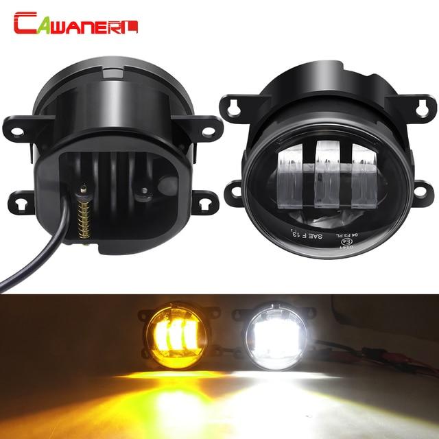 2 X LED Fog Light 30W 6000LM Car Front Fog Lamp DRL For Ford Focus Fusion Fiesta Transit Edge EcoSport Ranger C-Max Tourneo Ka