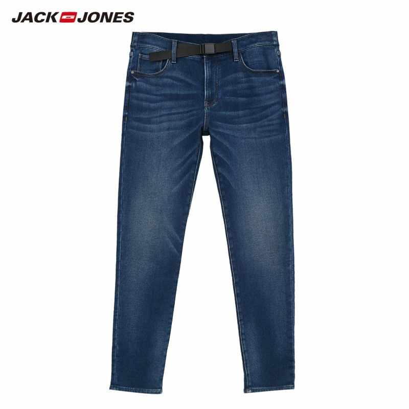 JackJones męskie miękkie rozciągliwe dopasowanie dopasowane dżinsy 219332585