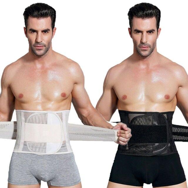 New Men Slimming Abdomen Fat Burn Tummy Body Shaper Sweat Belt Cincher Wraps Corset Gym Sport Women Trainlt Wide Belt Waistband 5