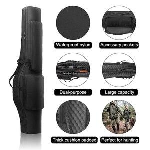 Image 2 - 120ซม.ปืนยุทธวิธีปืนไรเฟิลกระเป๋าล่าสัตว์กระเป๋าเป้สะพายหลังCarbine HolsterยิงกรณีCS Multifunctionalกระเป๋าสำหรับตกปลา
