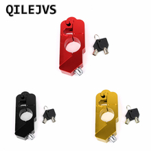QILEJVS Handlebar Lock Scooter Brake Security Theft Protection For Motorcycle