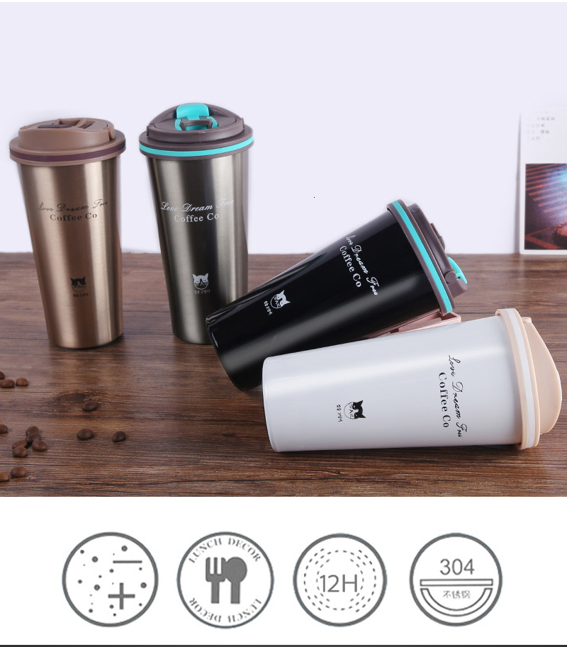 H111ce0ead98a45f2b7745670cecbfc0dl Hot Quality Double Wall Stainless Steel Vacuum Flasks 350ml 500ml Car Thermo Cup Coffee Tea Travel Mug Thermol Bottle Thermocup