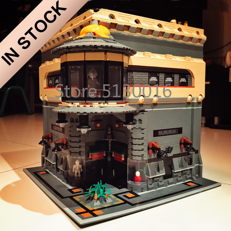 Creator The Dinosaur Museum MOC 15015 5003Pcs Street View Model Building Kits Blocks Bricks Education Toys 15002 15003 15008 Ql