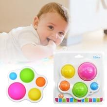 Brinquedos do bebê placa de exercício chocalho quebra-cabeça brinquedos de inteligência colorida placa de desenvolvimento cedo educacional brinquedos para crianças do bebê