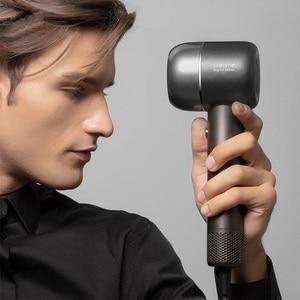 Image 4 - 新しいヘアドライヤー1400ワット110,000 rpmインテリジェント温度制御ヘアドライヤーマイナスイオンxiaomiyoupinから男性と女性の家