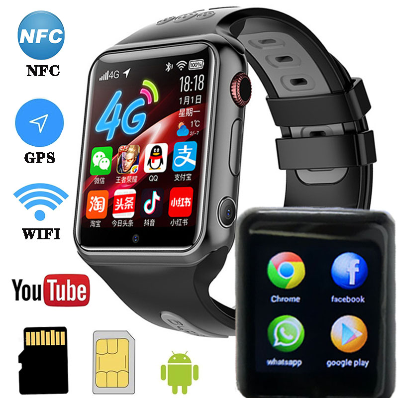 <font><b>W5</b></font> <font><b>Smart</b></font> <font><b>Watch</b></font> With Camera Bluetooth <font><b>Watch</b></font> 4G Wireless Network NFC SIM Card Children's Activity Tracker GPS Android <font><b>Smart</b></font> <font><b>Watch</b></font> image