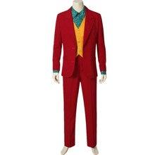 Movie Joker Joaquin Phoenix Arthur Fleck Cosplay Costume
