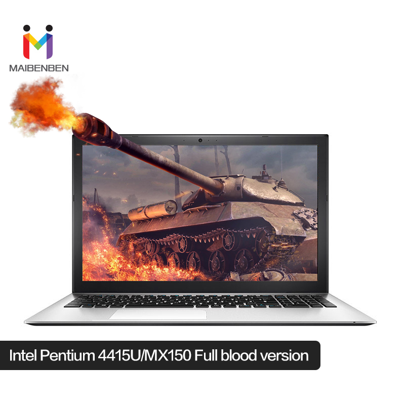 "MaiBenBen XiaoMai 5 Pro Laptop For Busines Intel 4415U+MX150 Graphics Card/8G RAM/256G SSD+1TB HDD/15.6"" 72%NTSC ADS Notebook"