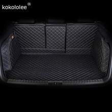 kokololee Custom car trunk mat for Kia Niro Sorento Borrego Carens KX7 KX5 KX3 K5 K4 K3S K3 K2 Sportage Soul Forte car styling