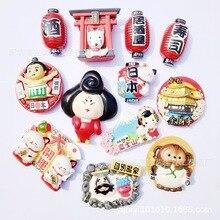 Refrigerator-Paste Souvenir Fridgemagnet-Decor Temple-Mount Japanese-Tourist Tokyo Fortunecat