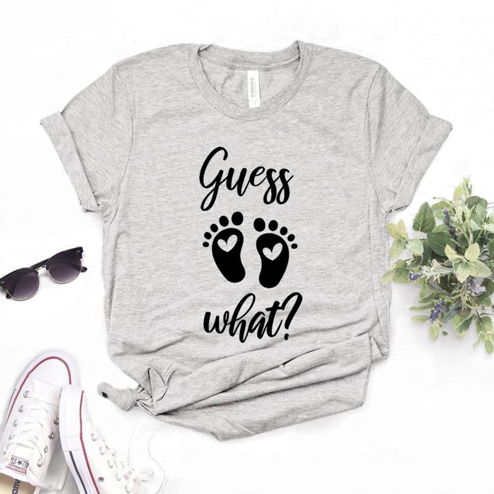 Guess What Foot Print Print Women Tshirt Cotton Hipster Funny T-shirt Gift Lady Yong Girl Top Tee 6 Colors Drop Ship ZY-499