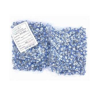 50 unids/lote Azul-Blanco resistor ajustable 102 horizontal Azul-Blanco resistor ajustable WH06-2 potenciómetro pre-sintonizado 1 K
