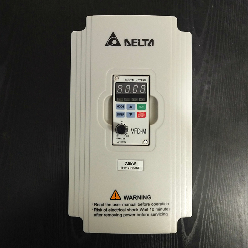 Delta Inverter 7.5KW VFD075M43A 3 Phase 380V Rated 18 A 100% New 7500W VFD Series Invertor Variable Speed AC <font><b>Motor</b></font> Drive image
