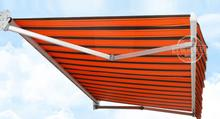 3*2.5m Electric remote Outdoor Gazebos retractable canopy Telescopic sheds Waterproof awning