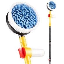 Auto Wassen Artefact Water Pistool Slang Hoge Druk Met Schuim Pot Huishoudelijke Nozzle Auto Borstel Mop Tool Set