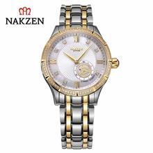 Часы наручные nakzen женские механические Автоматические Белые