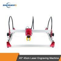 Deadalus Laser Engraving 45*45cm DIY Mini CNC Engraving Machine 12v Wood Engraving Machine with Gantry Structure Design.