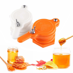 Válvula de portão de abelha de plástico, extrator de abelha, ferramenta de garrafagem, bom selo, reutilizável, durável, não-tóxico, criativo, prático