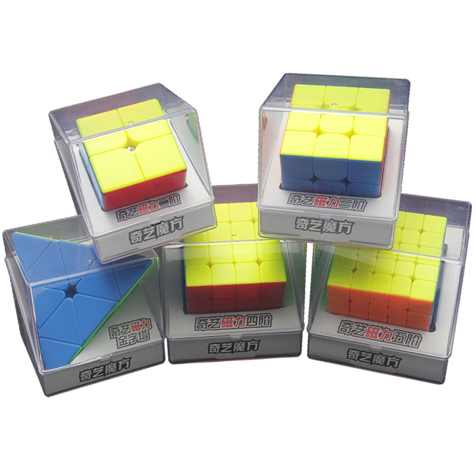 Qiyi M Magnetic 2×2 3×3 4×4 5×5 Pyramid Magic Cube Magnetic Speed Cube Puzzle Education Cube Toy For Children img5