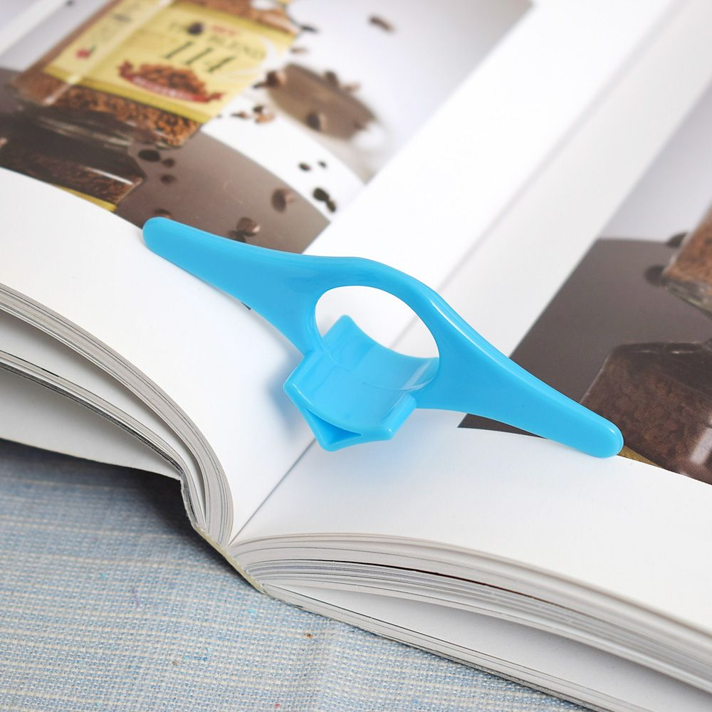 2PCS/Set Multifunction Thumb Book Page Holder Marker Convenient Bookmark School Office Supply