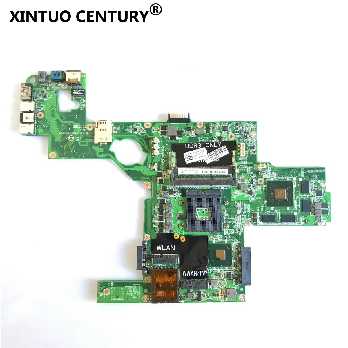 Материнская плата DAGM6CMB8D0 для ноутбука Dell XPS L502X, материнская плата C47NF 0C47NF CN-0C47NF GT525M GT540M, полностью протестированная, 100% оригинал