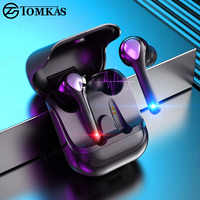 Wireless Earphones Bluetooth 5.0 Touch Control Waterproof Earbuds Stereo Sports Headsets Wireless Headphones For Phone With Mic
