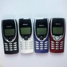 Original nokia 8210 celular desbloqueado 2g gsm 900/1800 celular remodelado & não pode usar nos eua