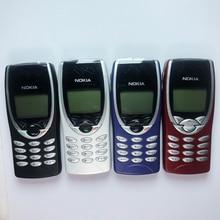 Original nokia 8210 celular desbloqueado 2g gsm 900/1800 remodelado não pode usar nos eua