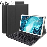 Ultra Slim Folio Stand Detachable Wireless Keyboard Cover for Huawei Mediapad M6 10.8 inch 2019 Tablet