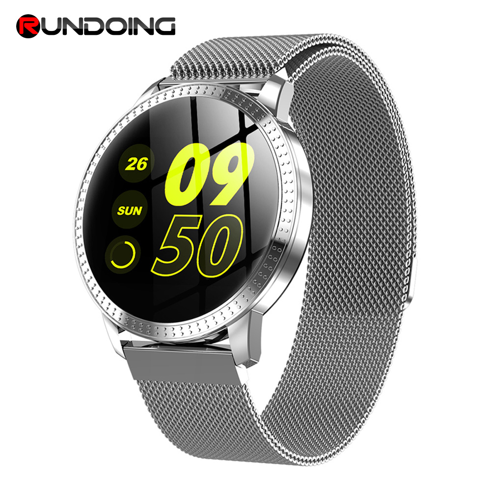 RUNDOING CF18 Men Smart Watch Waterproof IP67 Blood Pressure Tracker Fashion Men Sport Multi Sport Modes SmartWatch Women Band|Smart Watches| |  - AliExpress