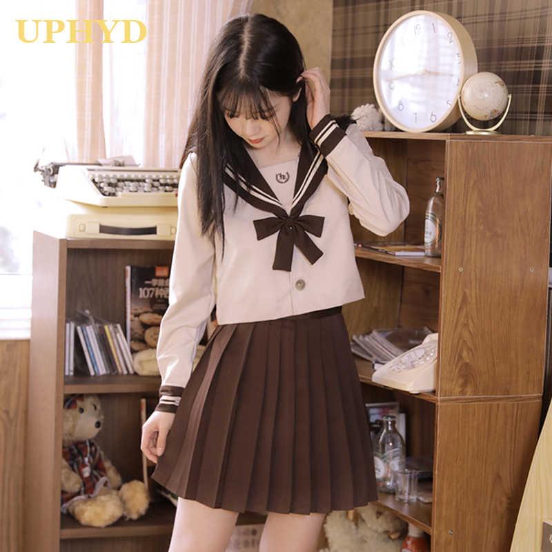 Japanese girl inschool uniform