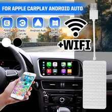 Беспроводной WiFi Carlinkit USB Smart Link для Apple CarPlay донгл для Android навигационного плеера автомобиля мини USB Carplay Stick модули