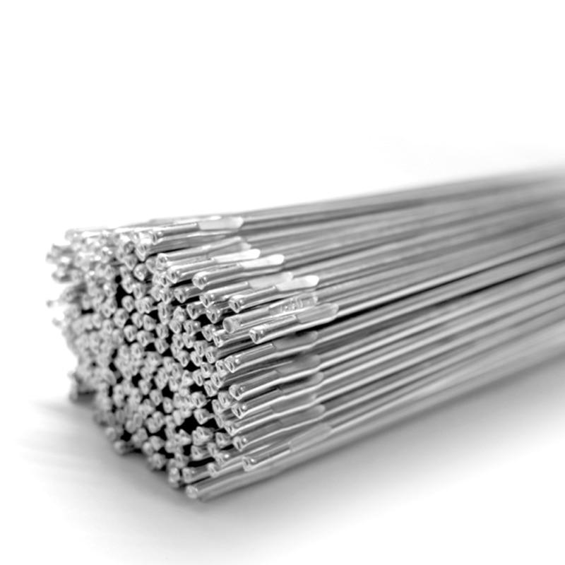 Hot 10pcs Welding Rods Low Temperature Aluminum Solder Wire Electrode Medicine Core Welding Sticks Soldering Supplies