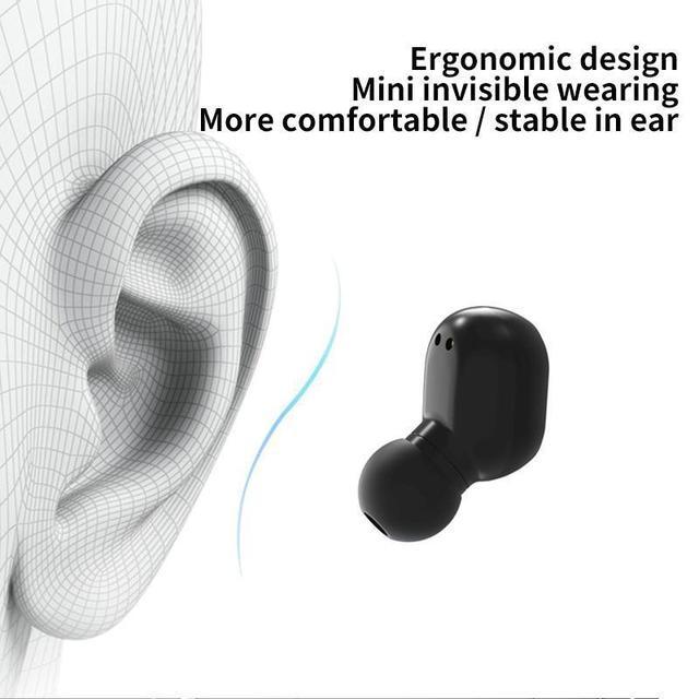 True Wireless Earbuds Bluetooth Headphones Sports Earphones TWS In-Ear Headsets with Microphone MIC Waterproof  for Mobile Phone 3