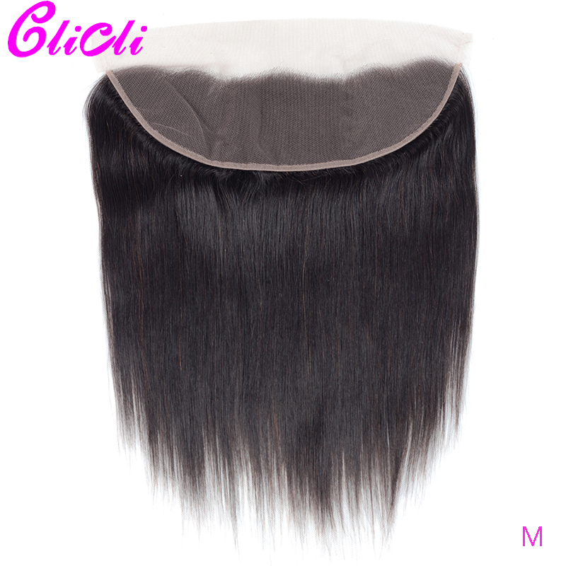 13x4 Ear To Ear Lace Frontal Closure Pre Plucked With Baby Hair Lace Frontal Closure Straight Brazilian Remy Human Hair