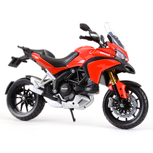 Image 5 - Maisto 1:12 Ducati Multistrada 1200S Red Die Cast Vehicles Collectible Hobbies Motorcycle Model Toys