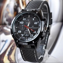 2019 Fashion Luxury Brand Watches Men leather Band Quartz outdoor Sport Watch Chronograph