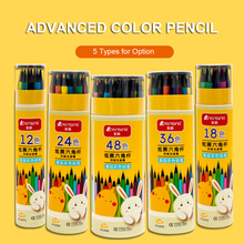 Drawing-Pens Colored Pencils Pre-Sharpened-Art Adults Children for Students Stationery