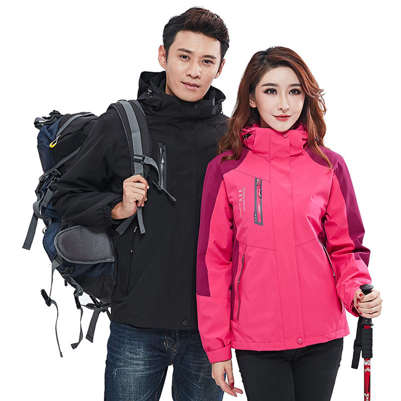 2020 New Women Ski Jacket Winter Coat Windproof Waterproof Men Mountaineering Outdoor Wear Super Warm Couple Snowboard Clothing