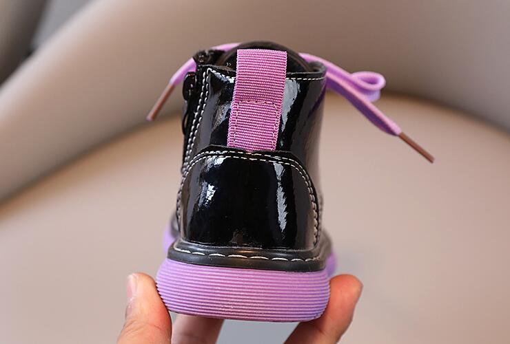 Calçados masculinos para crianças, sapatos martin de
